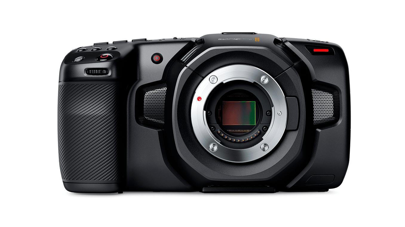 """Nueva Blacmagic Pocket Cinema Camera, esta vez con resolucion 4K y muchas mejoras. Las mejoras de la Blackmagic Pocket son bien recibidas, pero algunos""""trolean""""su diseño."""